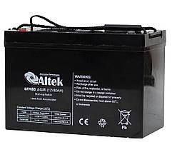 Аккумуляторная батарея Altek 6FM80AGM (80Ачас/12В)