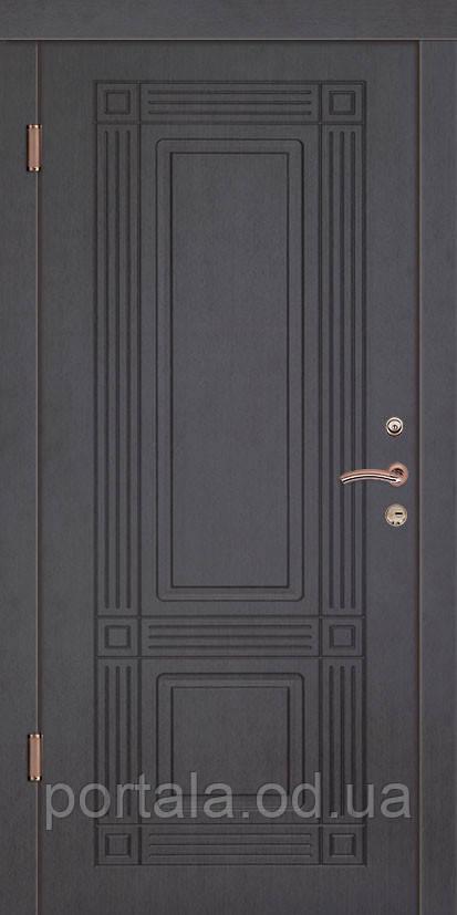 """Входная дверь для улицы """"Портала"""" (Комфорт Vinorit) ― модель Премьер"""