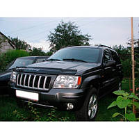 VipTuning Jeep Grand Cherokee (WJ) '98-04 Дефлектор капота мухобойка