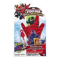 "!Уценка! Перчатка Человека-Паука - Glove Spider-man, ""Web-Warriors"", Ultimate Spider-Man, Hasbro"