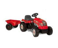 Трактор Педальный с Прицепом GM Bull Smoby 33045