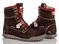 Ботинки Quik коричневые  41 рзм.