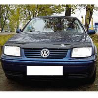 VipTuning Volkswagen Bora '98-05 Дефлектор капота мухобойка
