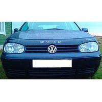 VipTuning Volkswagen Golf IV '97-03 Дефлектор капота мухобойка
