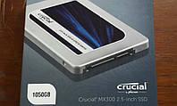"""Накопичувач SSDCrucial MX300 1050GB 2.5"""" SATA TLC"""