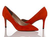 Туфли оранжевые 40 рзм.