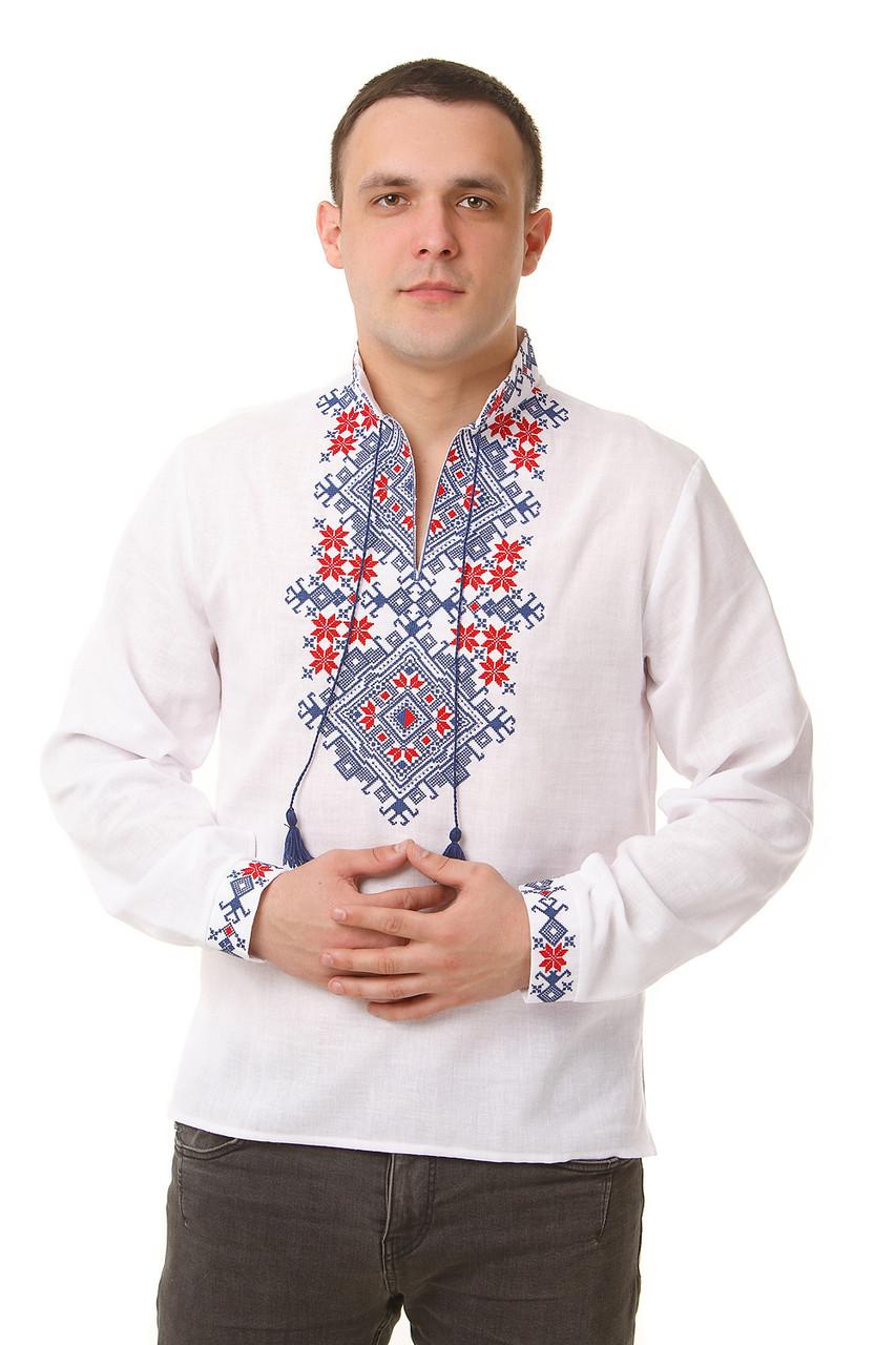 Мужская тканая рубашка