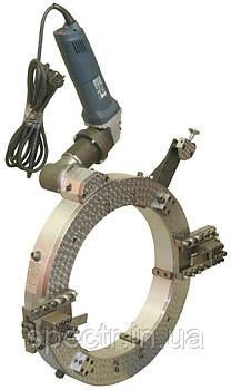 Труборез разъемный ТРР-325 с пневматическим и электрическим приводом