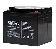 Аккумуляторная батарея Altek 6FM40AGM (40Ачас/12В)