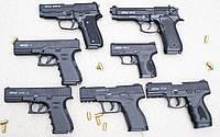 Retay Arms - сигнально-шумовые пистолеты 9 мм, обзор, стрельба