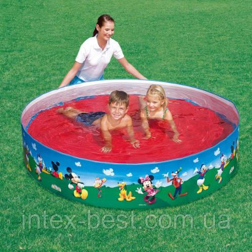 Bestway 91009 - круглый каркасный бассейн Splash and Play 183x38 см