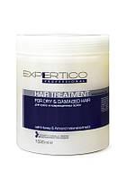 Интенсивный уход для сухих и поврежденных волос  1000 мл, Expertico