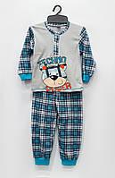 Трикотажная пижама  Техно-мишка, интерлок