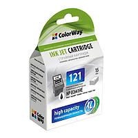 Картридж ColorWay для HP 121 XL Black (CC641HE)