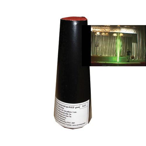Вспышка зеленая 3 м 1 сек / 4шт. GCP-1G (24/4)