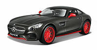 Автомодель 1:24 Mercedes - AMG GT серый металлик MAISTO (32505 met. grey)