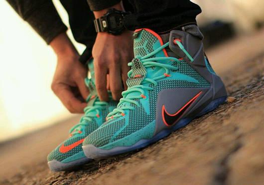 7572d1207284 Баскетбольные кроссовки Nike LeBron 12