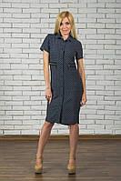 Платье женское летнее с молнией сзади