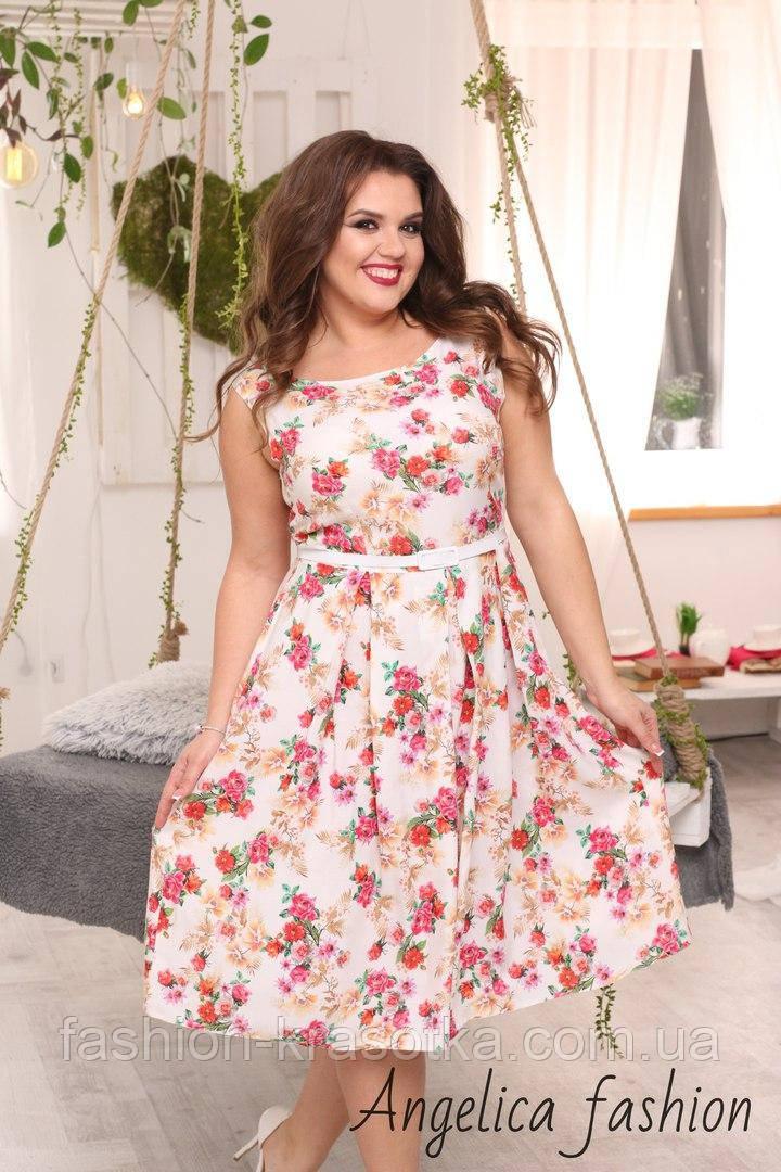 Шикарное летнее женское платье