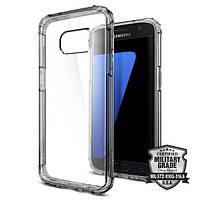 Чухол Spigen для Galaxy S7 Case Crystal Shell, Dark Crystal