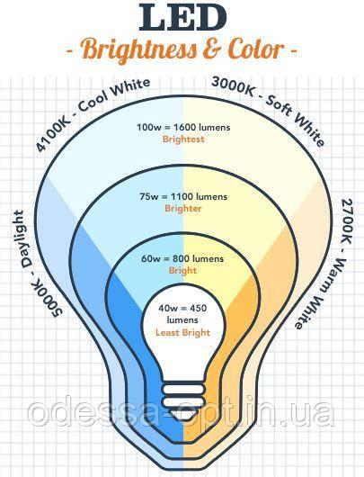 Купити світлодіодні лампи в інтернет-магазині