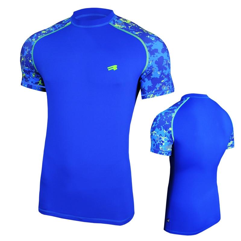 Компрессионная спортивная футболка Radical Furious II SS (original), мужской рашгард с коротким рукавом