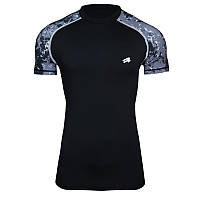 Компрессионная спортивная футболка Rough Radical Furious II SS (original), мужской рашгард с коротким рукавом