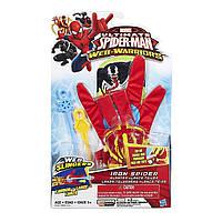 "Перчатка Железного Паука - Glove Iron Spider, ""Web-Warriors"", Ultimate Spider-Man, Hasbro"