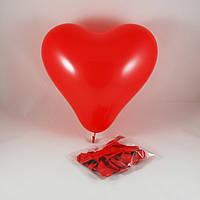 Шар-сердце воздушный (10 шт.)
