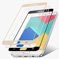 Защитное стекло 3D на весь экран для Samsung Galaxy A3 2016 A310 - HPG 3D Tempered glass 0.3 mm, разные цвета