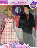 Кукла типа Барби Семья беременная B48