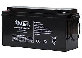Аккумуляторная батарея Altek 6FM150AGM (150Ачас/12В)