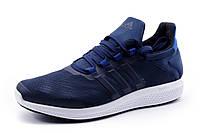 Кроссовки Adidas Bounce, мужские, текстиль, темно-синие, р. 41 45