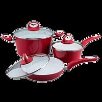 Набор посуды из алюминия Vinzer Colorit (89459)