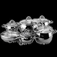 Набор посуды из нержавеющей стали Vinzer Stella (89020)