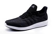 Кроссовки Adidas Bounce, мужские, текстиль, черные, р. 41 42 43 44 45