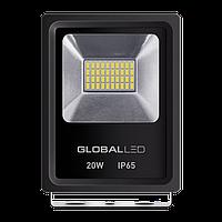 Уличный LED прожектор GLOBAL FLOOD LIGHT 20W 1200 Лм (5000К) светодиодный IP65