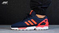 Adidas ZX Flux Dark Blue / Solar Red