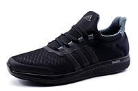 Кроссовки Adidas Bounce, мужские, текстиль  черные, р. 44 45