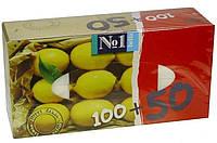 Салфетки Bella ароматизированные лимон 100шт+50шт/уп