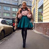 Юбка женская ,Кашемир Красный, черный, белый, бутылка, оранжевый, голубой Отличное качествоипос №097-260