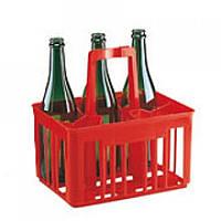 Ящик для бутылок, на 6 шт.