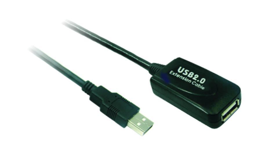 Кабель-удлинитель Wiretek WK-XT205, USB2.0, 5m