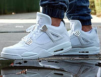 "Air Jordan 4 Retro ""All White"""