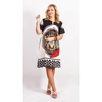 Красивое платье с оригинальным принтом  / Гарне плаття з оригінальним прінтом