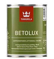 Бетолюкс. краска для пола. Глянцевая краска для бетонных и деревянных полов. BETOLUX. 0,9л