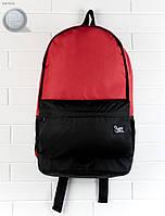Рюкзак (с отделением для ноутбука до 17″) Staff - Black with red 23 L Art. RB0022 (красный \ чёрный)