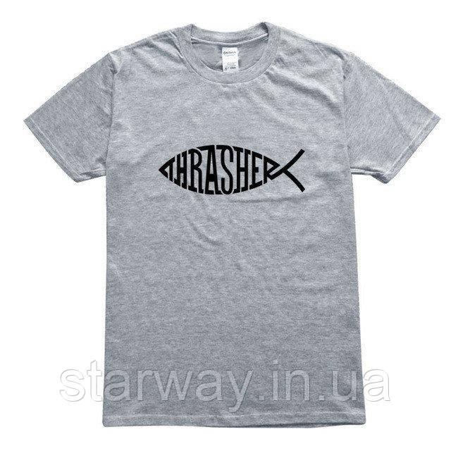 Футболка   Thrasher logo four