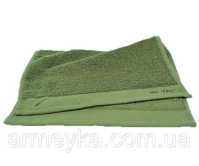 Армейское полотенце Small 30*30 cm., 100% Cotton. НОВОЕ. Mil-tec, Германия.