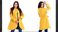 Пальто женское , материал кашемир, внутри подкладка, расцветка только такая  ЕСтил № 487